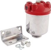 FUEL FILTER CHROME CANISTER