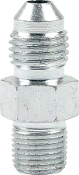 "#4 TO 1/8"" NPT ADAPTER - STEEL"