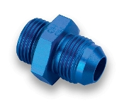 #10 TO #8 O-RING ADAPTER - STRAIGHT, MALE, ALUM