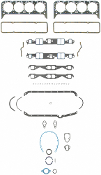 SB CHEVY FULL GASKET SET - PERFORMANCE, 1955-1996