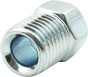 "INVERTED FLARE NUTS 1/4"" ZINC 10PK"