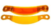 AMBER LAMINATED TEAROFF - FITS SHARK/VUDO/AIR DRAFT/SS