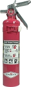 FIRE EXTINGUISHER 2.5LB RED