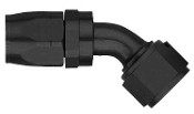 #12 45 DEG. HOSE END - SWIVEL