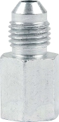 "#4 MALE TO 1/8"" NPT FEMALE ADAPTER - STEEL, 4PK"