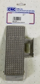 ALUMINUM GAS PEDAL W/ STRAIGHT BASE