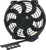 ELECTRIC FAN - 10IN CURVED BLADE