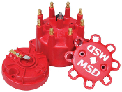 MSD RED CAP & ROTOR KIT- SMALL
