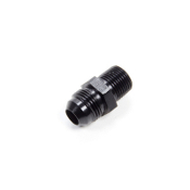 "#8 AN TO 3/8"" PIPE ADAPTER - STRAIGHT, ALUM, BLACK"