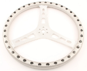 "LIGHTWEIGHT 15 INCH STEERING WHEEL - 1"" DISH"