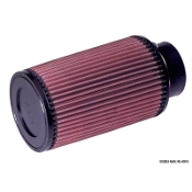 "K&N AIR FILTER - CONE, 3"" FLANGE, 8"" TALL"