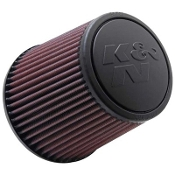 "K&N AIR FILTER - CONE, 3"" FLANGE, 6"" TALL"