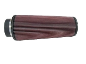 "K&N AIR FILTER - CONE, 4"" FLANGE, 14"" TALL"