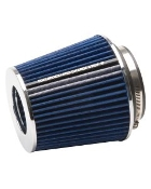 "EDELBROCK PRO-FLO AIR FILTER - CONE, 6 3/4"" TALL"