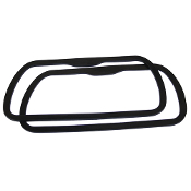 RUBBER VALVE COVER GASKETS - VW TYPE 1, PAIR