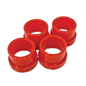 VW KING PIN BEAM BUSHINGS - OUTER, RED